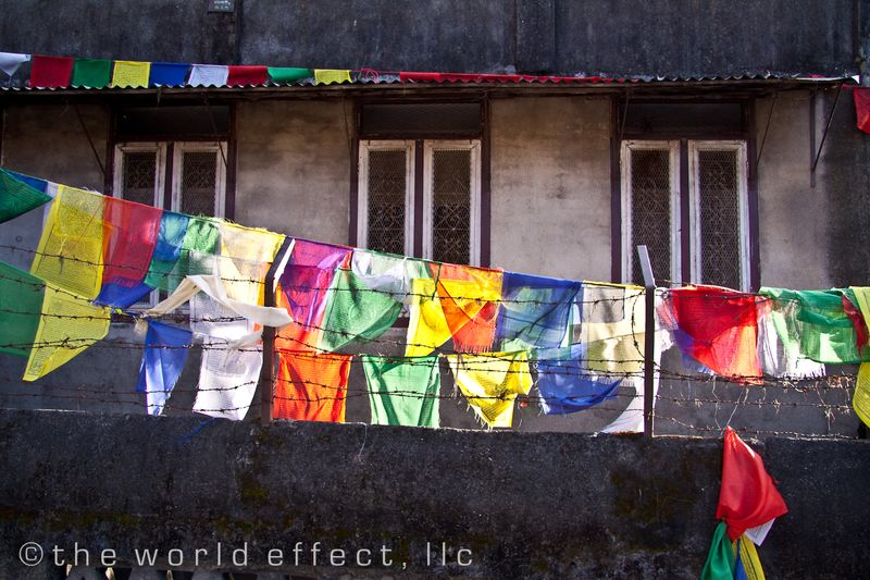 Prayer flags. Kathmandu, Nepal