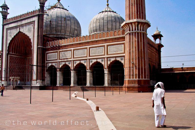 Jama Masjid. Delhi, Inida