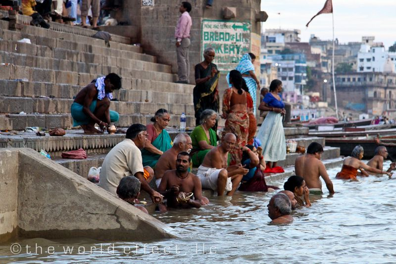 Ganges River. Varanasi, India