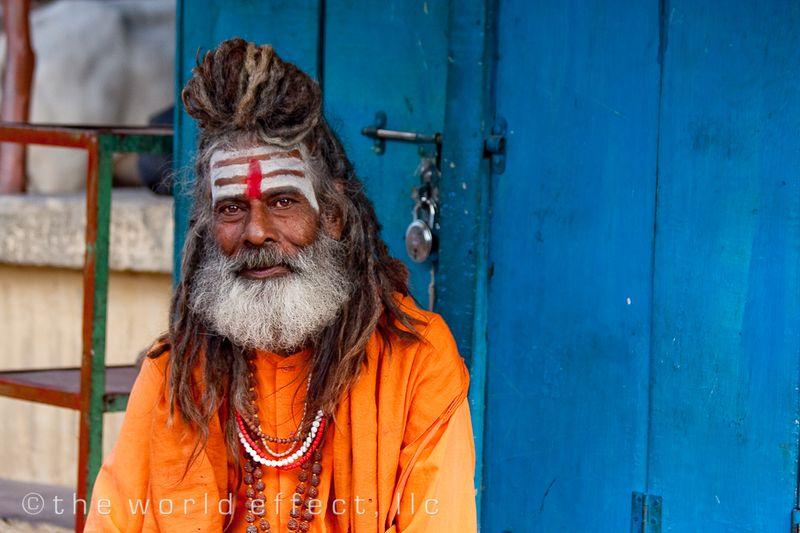 Holyman. Varanasi, India