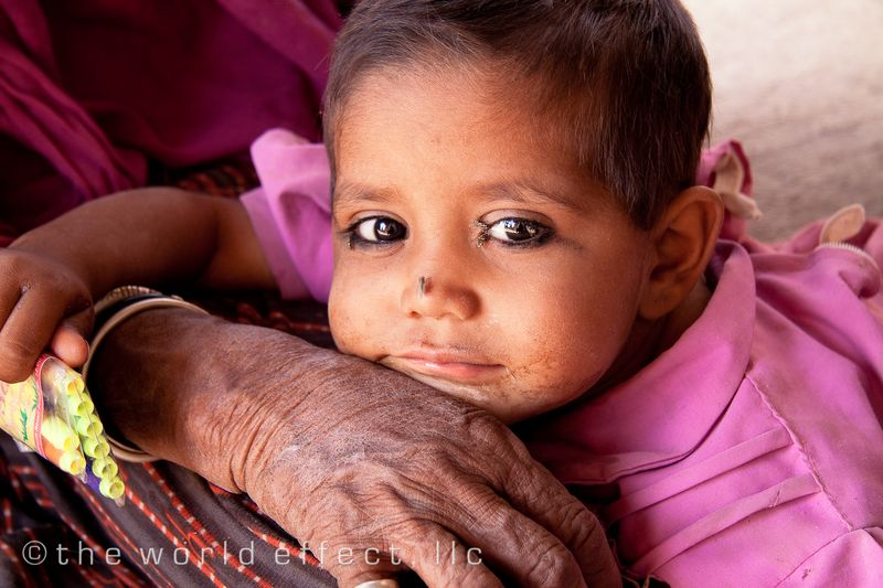 Little girl. Rajasthan, India