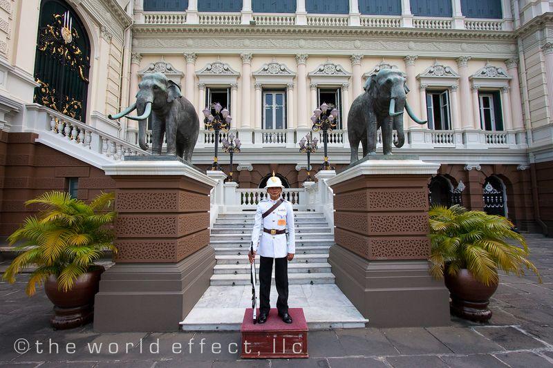 Bangkok, Thailand - Grand Palace Guard