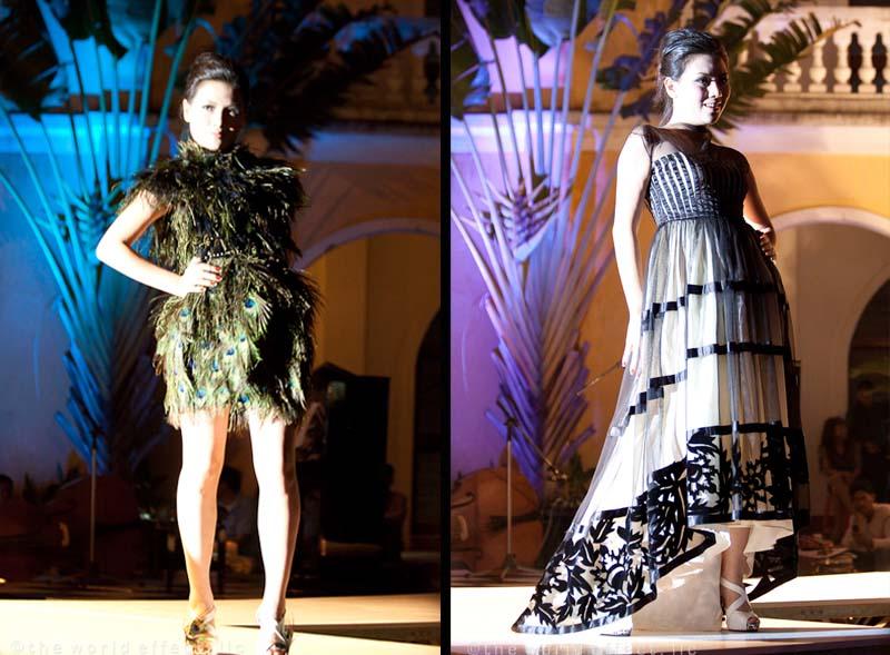 Yaly fashion show. Hoi An, Vietnam