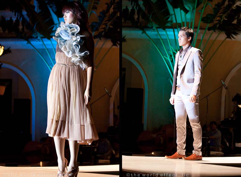 Yaly fashion show. Hoi An, Vietnam