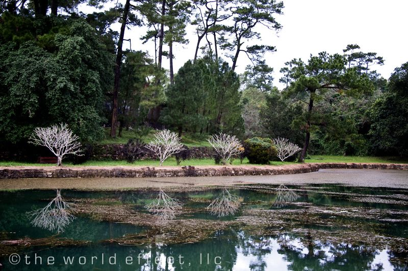 Hue, Vietnam - Pond at Royal Tombs