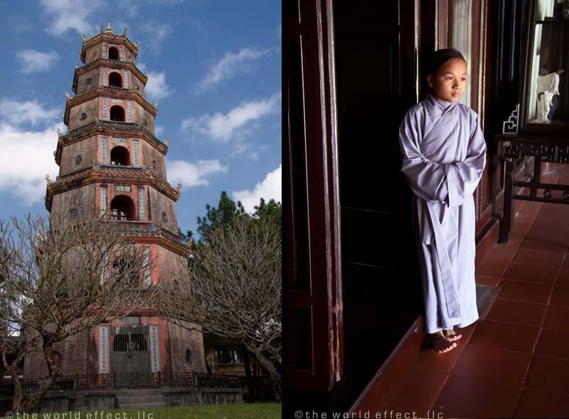 Hue, Vietnam - Pagoda