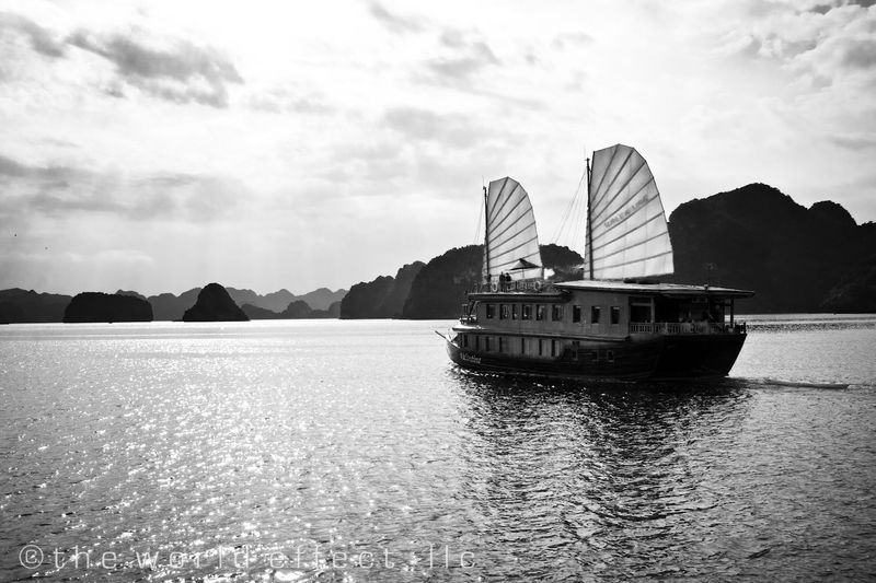 Ha Long Bay, Vietnam - cruise boat