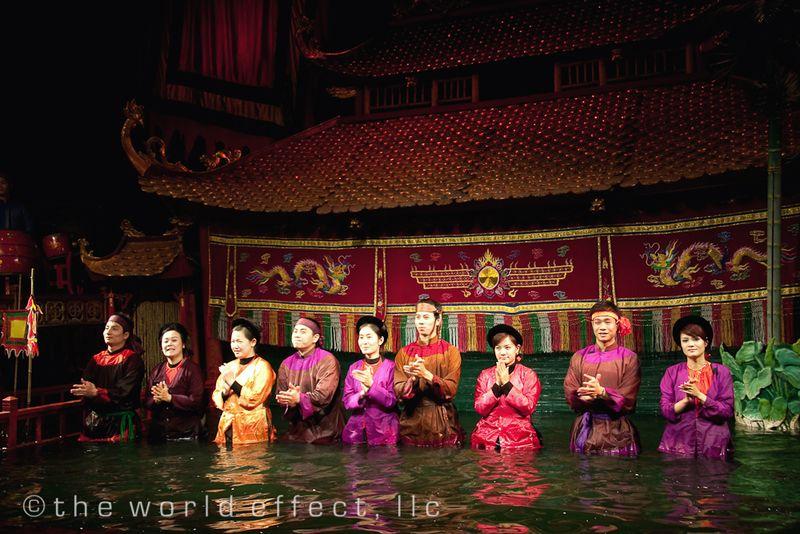 Hanoi, Vietnam - water puppet show