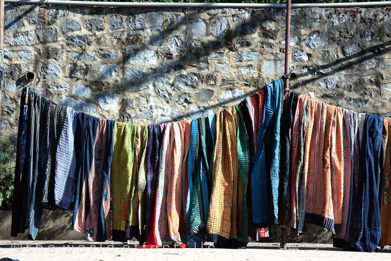 Textiles. Sapa, Vietnam