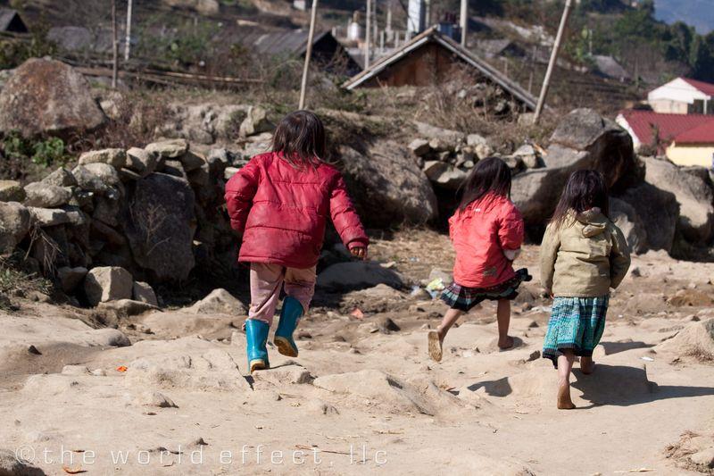 Sapa Vietnam - Village Kids