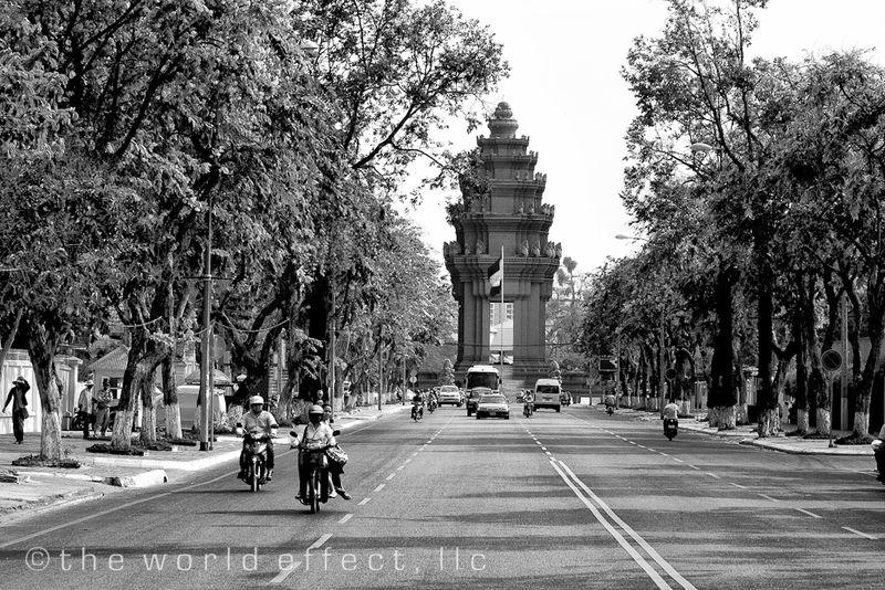 Independence Monument. Phnom Penh, Cambodia