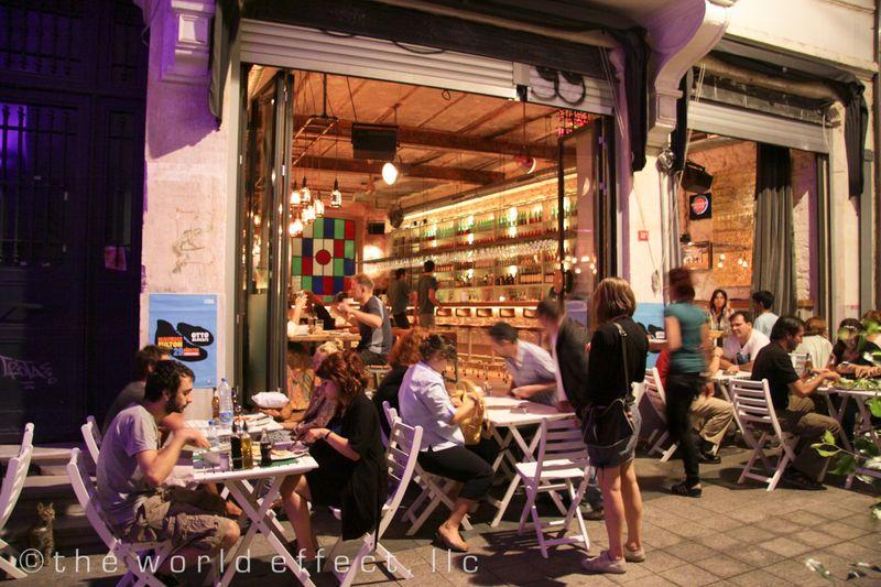 Istanbul, Turkey - Pera Area Restaurant