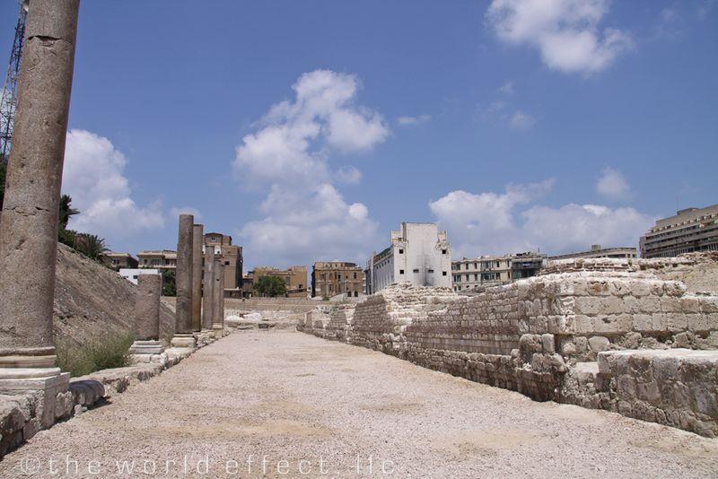 Alexandria, Egypt - Roman amphitheater