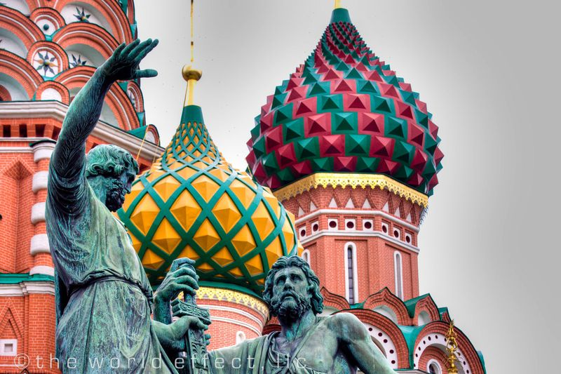 Moscow, Russia - Saint Basil's Cathedral