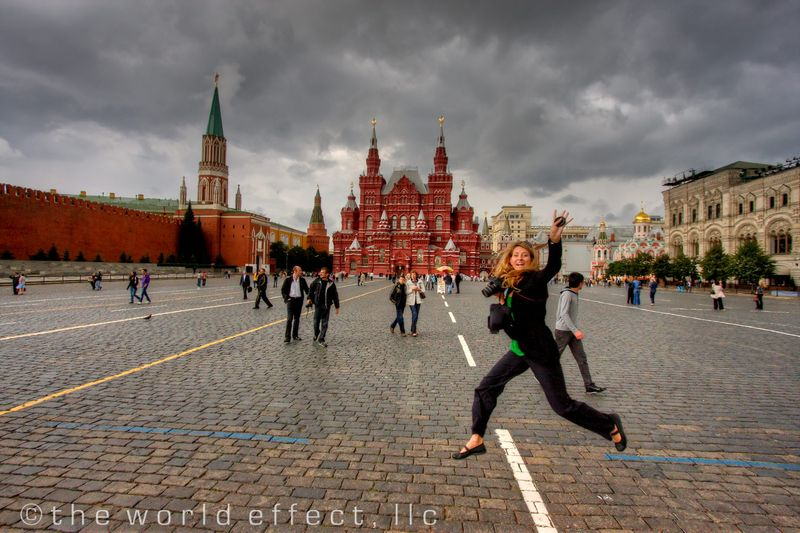 Moscow, Russia - M in Red Square