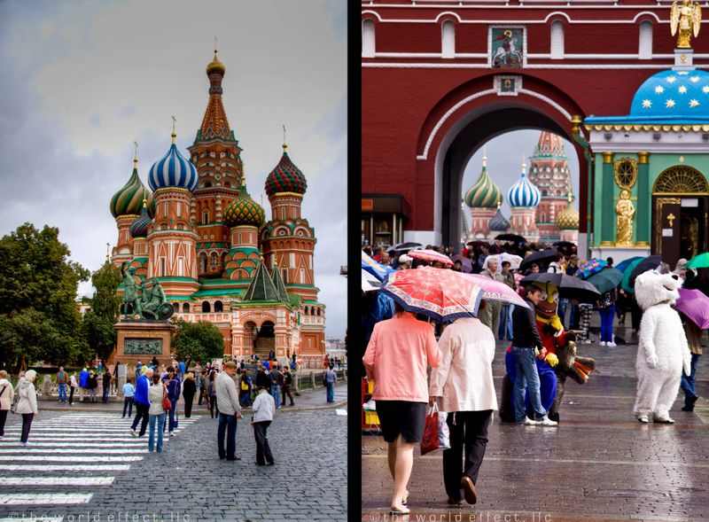 Moscow, Russia - Saint Basil's and Red Square