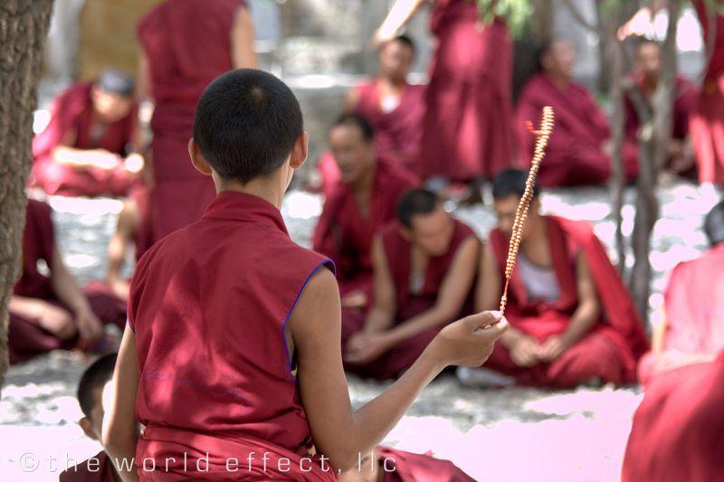 Sera Monastery. Lhasa, TIbet