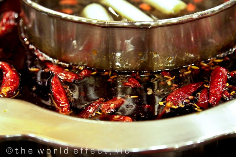 Sichuan Hot Pot. Chegdu, China
