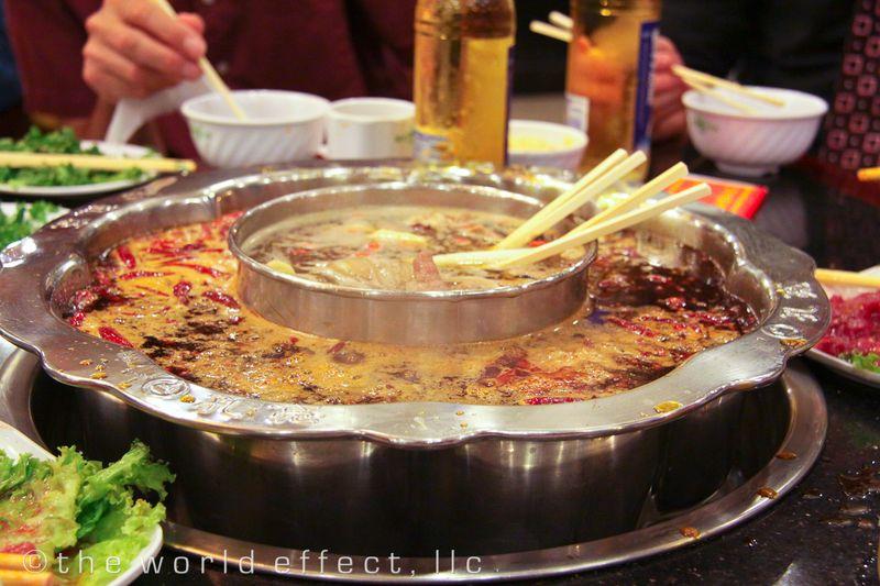 Shichuan Hotpot. Chengdu, China