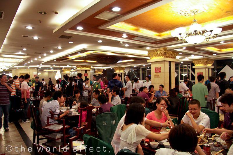 Hotpot Restaurant. Chengdu, China