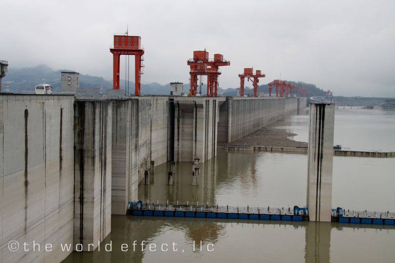 3 Gorges Dam, Yangtze River, China