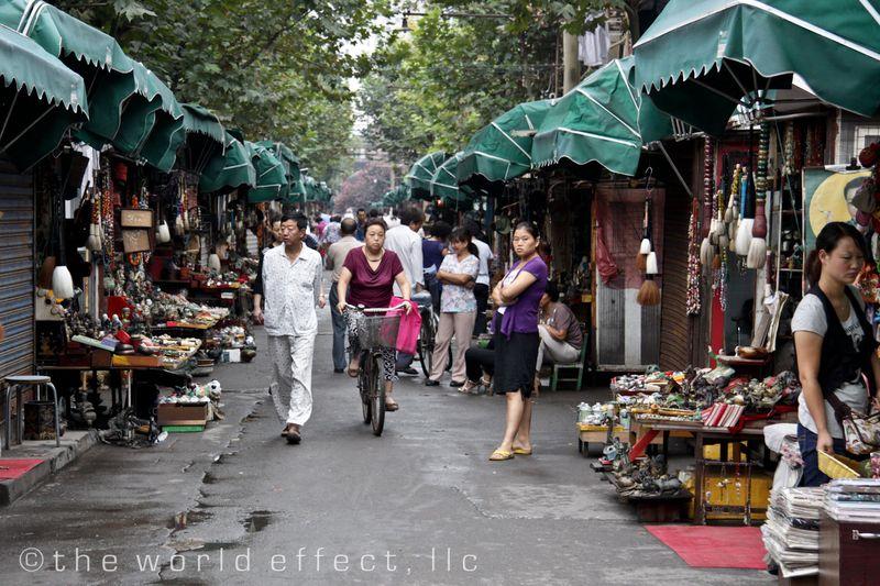 Shanghai, China - Dongtai Lu Antique Street Market