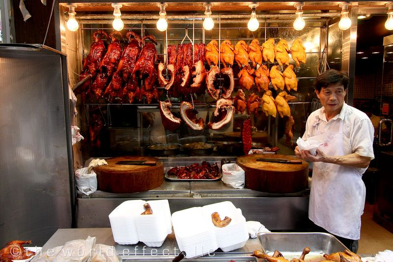 Peking Duck. Hong Kong