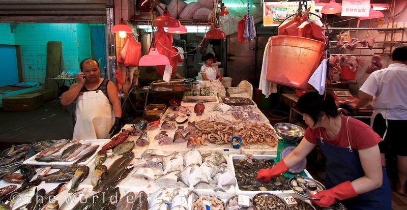 Fish Market Hong Kong