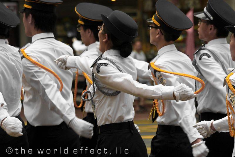 Marching Parade. Hong Kong