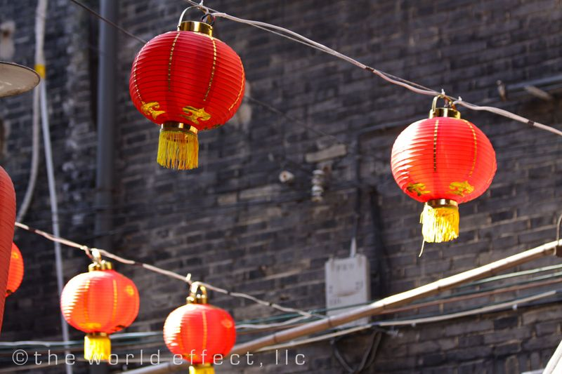 Shanghai, China - Chinese Lanterns