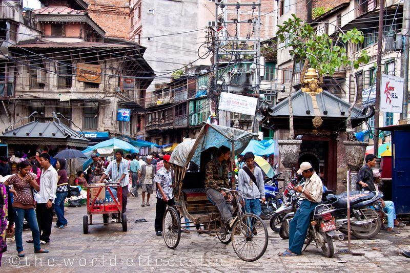 Street scene Kathmandu, Nepal