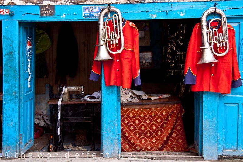 Musical Instument Shop. Kathmandu, Nepal