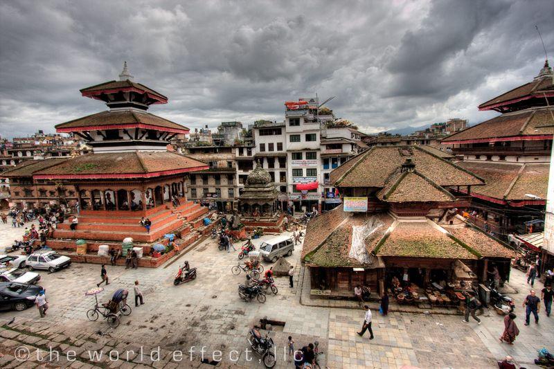 Durbar Square. Kathmandu, Nepal