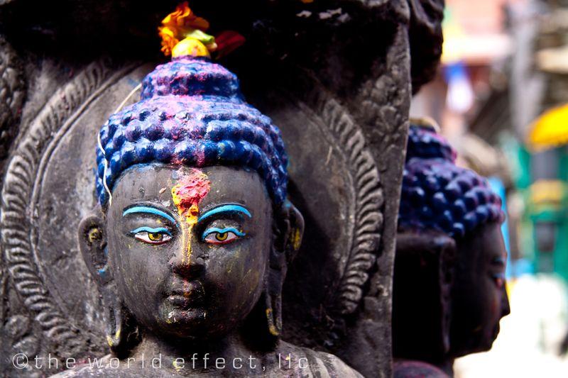 Buddha statue in Kathmandu, Nepal