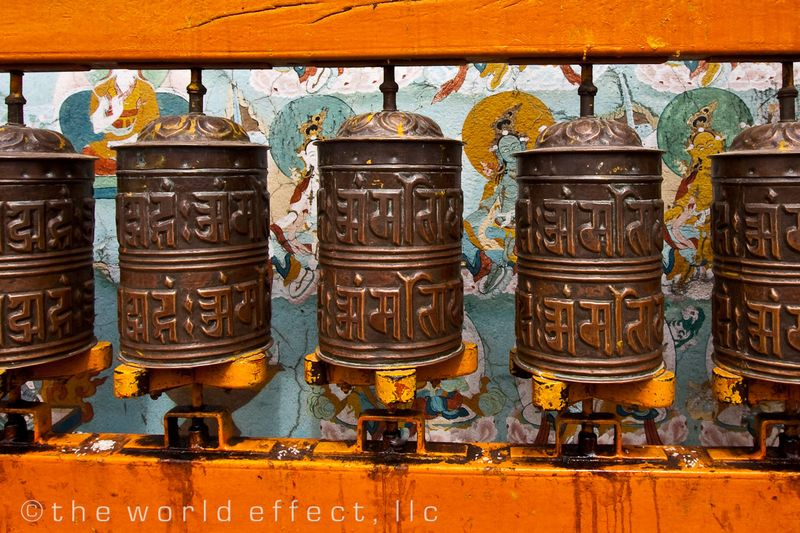 Buddhist Stupa. Kathmandu, Nepal