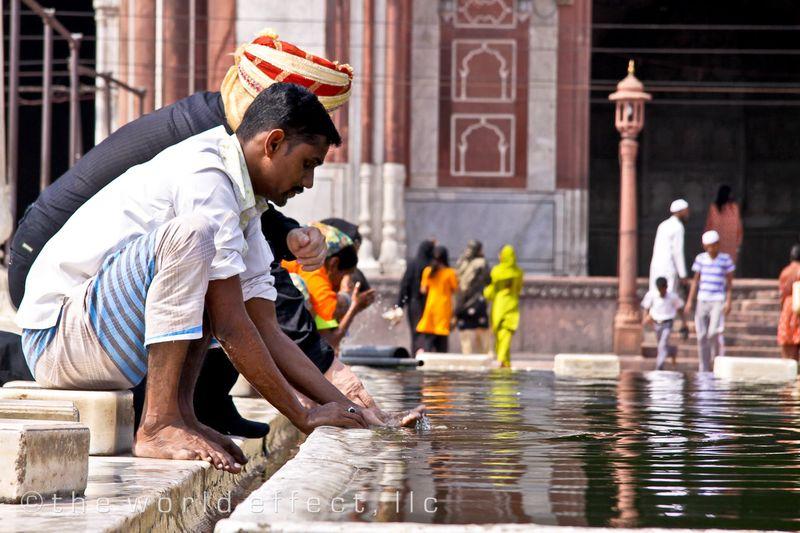 Jama Masjid. Delhi, India
