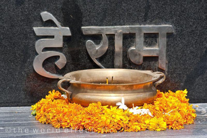Gandhi's mausoleum
