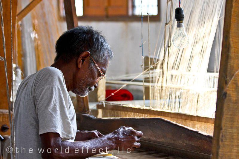 Weaver. Varanasi, India