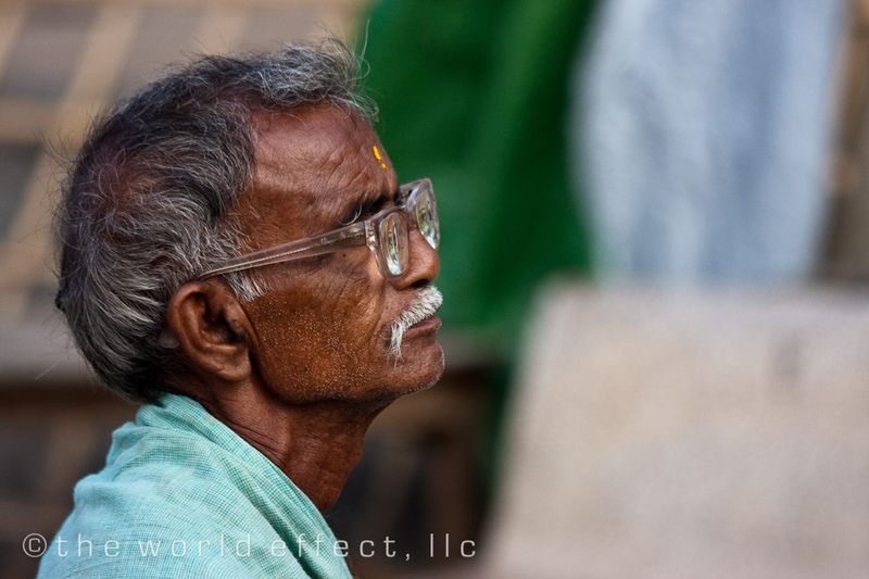 Man in Varanasi, India