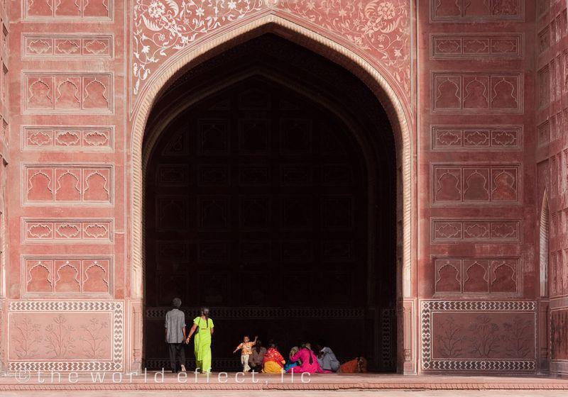 Side building at the Taj Mahal