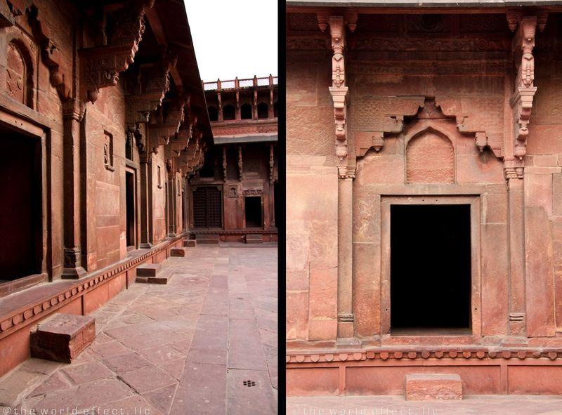 Agra Fort door ways
