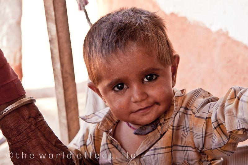 Little boy. Rajasthan, India