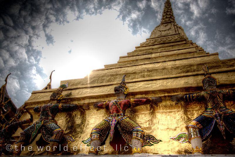 Bangkok, Thailand - Wat Phra Kaew 2