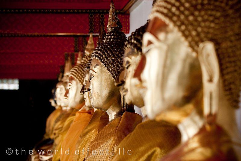 Bangkok, Thailand - Buddhas