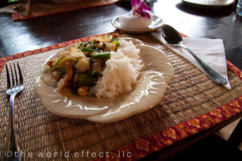 Bangkok, Thailand - Chicken and Cashew nuts