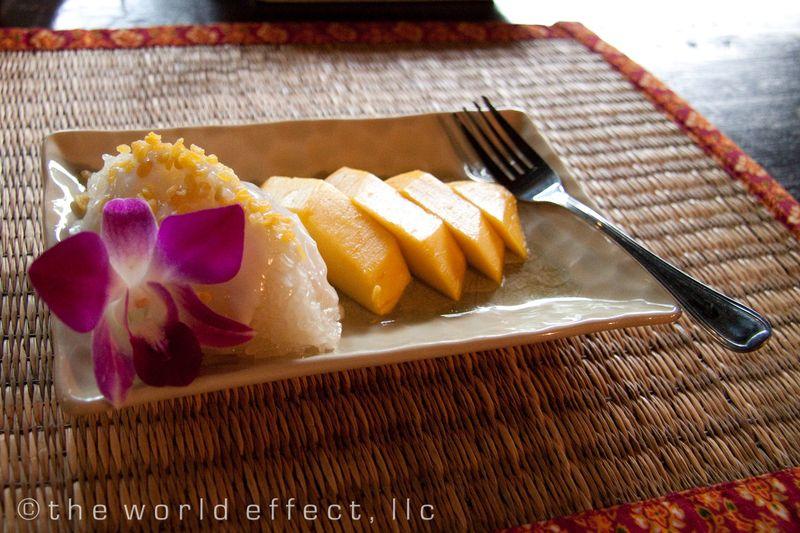 Bangkok, Thailand - Mango Sticky Rice