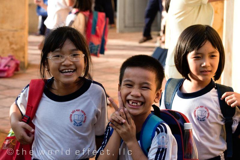 School in the Mekong Delta, Vietnam