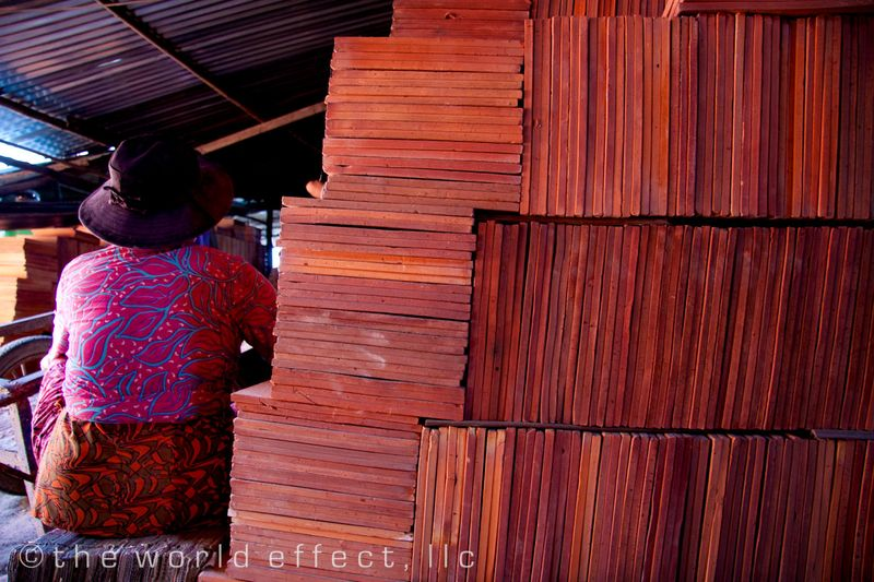 Brick Factory. Mekong Delta, Vietnam
