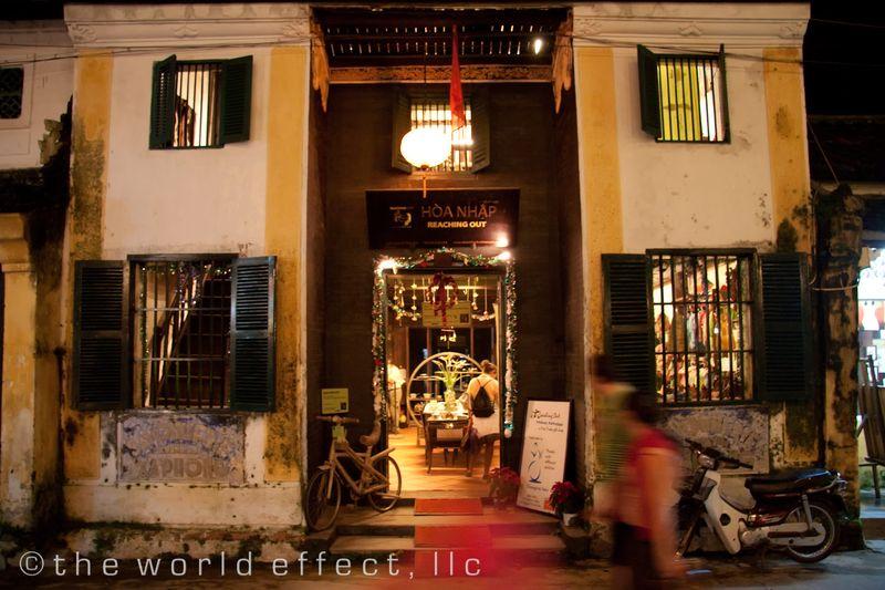 Reaching Out storefront. Hoi An, Vietnam