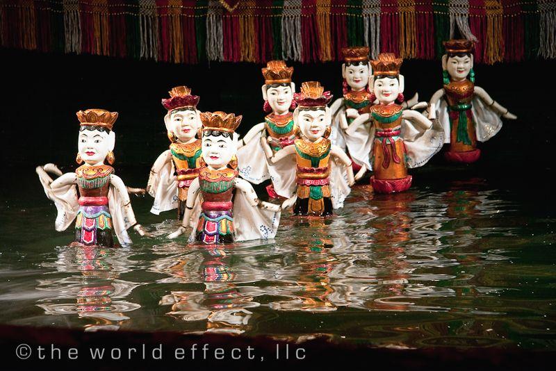 Hanoi, Vietnam - water puppets